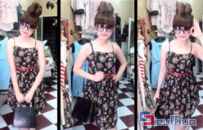 Đầm hoa 2 dây giá chỉ có 125.000đ, mang đến cho các bạn gái vẻ trẻ trung, xinh xắn và quyến rũ mà không kém phần sang trọng, quý phái. - 1 - Thời Trang Nữ
