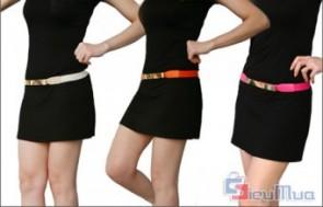 Thắt lưng bản kim loại dành cho nữ giá chỉ có 68.000đ, thắt lưng có phần bản rộng bằng kim loại, tạo điểm nhấn ấn tượng cho các loại trang phục. - 1 - Thời Trang Nữ - Thời Trang Nữ