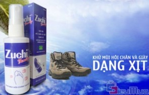 Combo 2 chai xịt khử mùi giày Zuchi giá chỉ có 68.000đ, khử mùi hôi tức thì, diệt khuẩn, giảm tiết mồ hôi, loại bỏ nguyên nhân gây mùi.