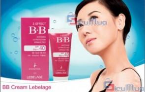 Kem Nền BB Cream Lebelage 30ML giá chỉ có 70.000đ, với chiết xuất hoàn toàn từ thảo dược thiên nhiên, mang đến cho bạn làn da trắng đẹp, tự nhiên. - 1 - Dịch Vụ Làm Đẹp - Dịch Vụ Làm Đẹp