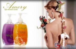 Combo 2 sữa tắm hạt massage Amery Lavender & Essence 400ML giá chỉ có 109.000đ, ngăn ngừa chống lão hóa da, nuôi dưỡng và giữ ẩm cho da. - 1 - Dịch Vụ Làm Đẹp - Dịch Vụ Làm Đẹp