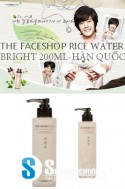 THE FACESHOP RICE WATER BRIGHT 200ML – HÀN QUỐC