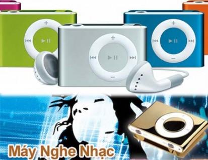 MÁY NGHE NHẠC MP3 + TAI NGHE+ CÁP DỮ LIỆU