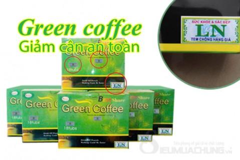 TRÀ GIẢM CÂN GREEN COFFEE (HỘP 18 GÓI, 5 GRAM/GÓI) - 1 - Du Lịch Trong Nước