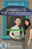 Siêu Mua Chung - COMBO 2 VE THE GIOI TRANH 3D VUI NHON
