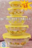 Siêu Mua Chung - BO THO THUY TINH 5 CAI - 1 - Gia Dung