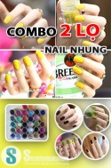 Siêu Mua Chung - COMBO 2 LO NAIL NHUNG - PHONG CACH THOI TRANG MOI
