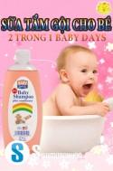 Siêu Mua Chung - SUA TAM GOI 2 TRONG 1 BABY DAYS