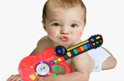 ĐÀN BABY 3 trong 1 ( dùng pin):Giúp bé làm quen môi trường âm nhạc.