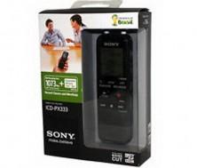 Siêu thị tại nhà - MAY GHI AM SONY ICD PX333:Bo nho tich hop den 4GB ,Pin su dung den 72 gio,Chinh hang 1 Nam