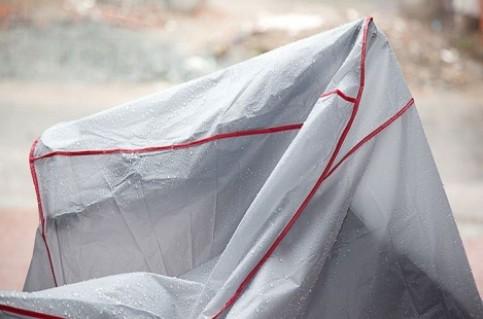 Bạt phủ xe gắn máy:giúp che mưa, chống nắng, chống bụi.