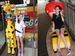Siêu thị tại nhà - BO DO SHORT THE THAO KHOET VAI:Chat lieu coton tham hut, kieu dang thoi trang...