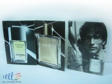 Mẫu thử nước hoa Chanel dành cho nam giới - Thời Trang và Phụ Kiện