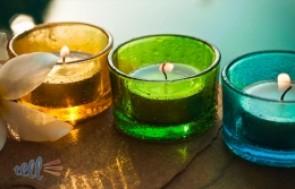Combo 2 vỉ Nến tealight không khói, không mùi, cho bạn không gian lãng mạn, ấm cúng