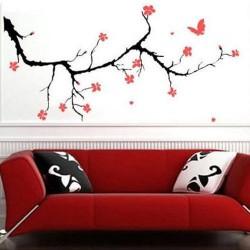 Tiki - Decal Dan Tuong NineWall Cherry Blossom NB010