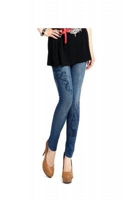 Titi Shop - Quan Legging gia jeans Titishop QDN02 (Xanh)