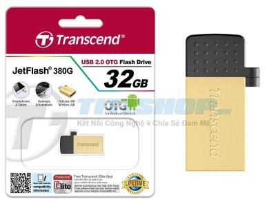 Titi Shop - USB OTG JF380 32GB Silver 2 DAU