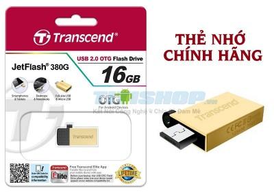 Titi Shop - USB OTG JF380 16GB Silver