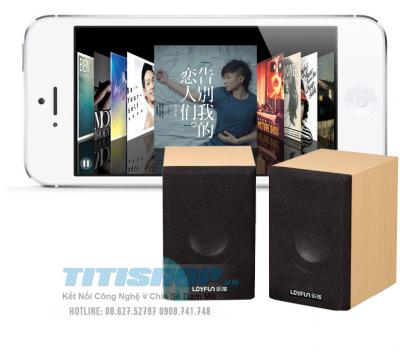 Titi Shop - Loa Go may tinh LOYFUN chinh hang new