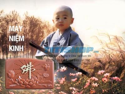 Titi Shop - May niem kinh Phat 3 cau : Tang kem 2 pin