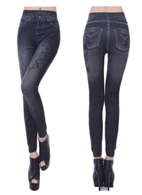 Titi Shop - Quan Legging gia jeans QDN10