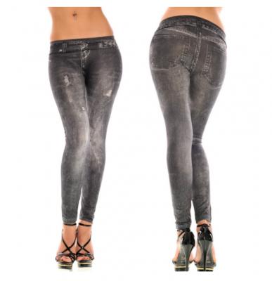 Titi Shop - Quan Legging gia jeans QDN14