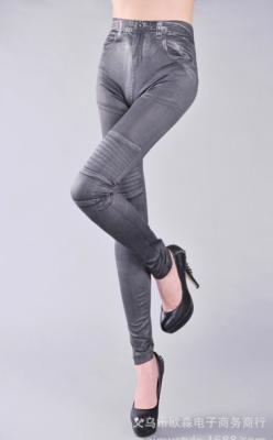 Titi Shop - Quan Legging gia jeans QDN19