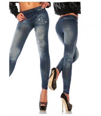 Titi Shop - Quan Legging gia jeans QDN22