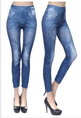 Titi Shop - Quan Legging gia jeans QDN26