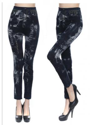 Titi Shop - Quan Legging gia jeans QDN28