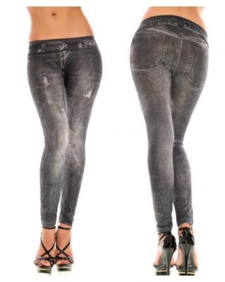 Titi Shop - Quan Legging gia jeans QDN37
