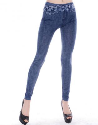 Titi Shop - Quan Legging gia jeans QDN12