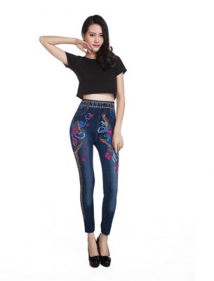 Titi Shop - Quan Legging gia jeans QDN45
