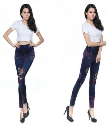 Titi Shop - Quan Legging gia jeans QDN48