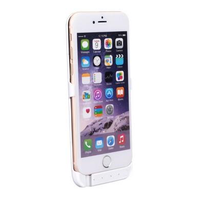 Titi Shop - Op lung pin du phong cho iPhone 6 3800mAh (trang)
