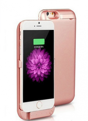 Titi Shop - Op lung pin du phong cho iPhone 6 3800mAh (hong)