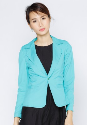 Titi Shop - Ao khoac vest nu AKVN62 (Xanh la)