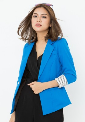 Titi Shop - Ao khoac vest nu AKVN110 co lot ( xanh )