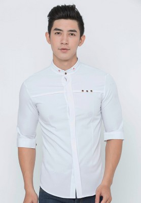Titi Shop - Ao so mi nam SM336 tay lung cao cap