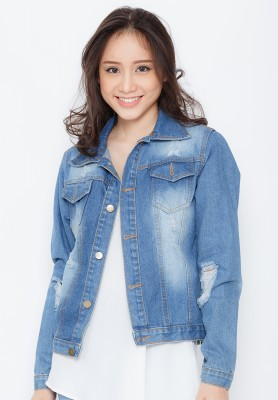 Titi Shop - Ao khoac jean nu NT18