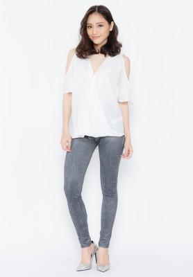 Titi Shop - Quan legging gia jean Cao cap QDN01