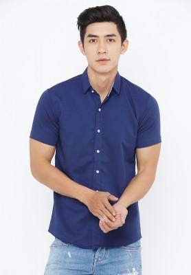Titi Shop - Ao so mi nam SM338 ( Xanh den )