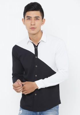Titi Shop - Ao so mi nam Cao cap SM335 ( trang tren den duoi )