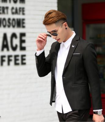 Titi Shop - Ao khoac Vest nam Cao cap AKN411 ( TANG 1 AO THUN NAM )