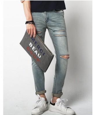 Titi Shop - Quan Jean nam rach QJ106