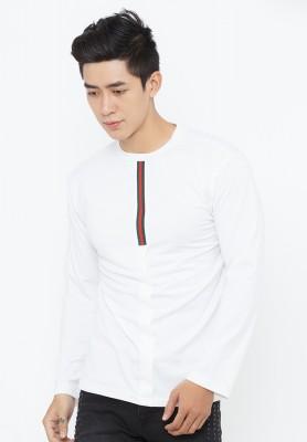 Titi Shop - Ao thun nam tay dai AT89 ( trang )