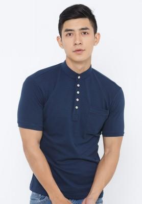 Titi Shop - Ao thun nam Ca sau cao cap body AT147 ( xanh den)