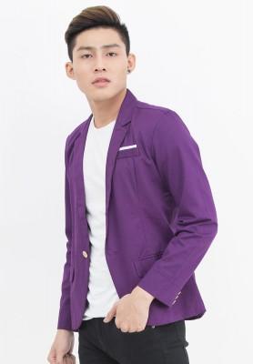 Titi Shop - Ao khoac Vest nam Cao cap AKN352 ( TIM )