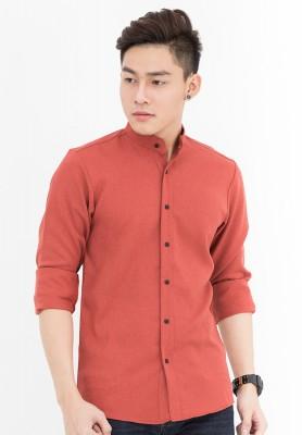 Titi Shop - Ao so mi co tru Khong nhan SM359