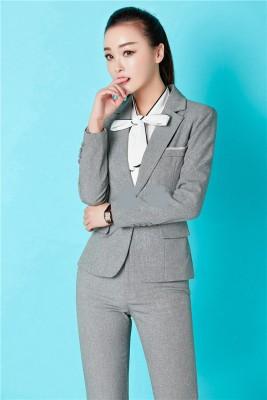 Titi Shop - Bo Ao vest nu va Quan dai Nhap Khau Cao cap ACC22 ( Xam Trang )